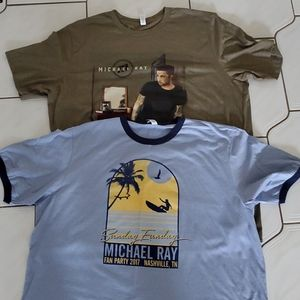 Tops - Exclusive 2x Michael Ray country music tees
